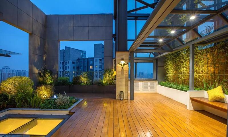 八八中心屋顶花园