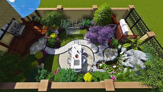 陈生别墅后花园